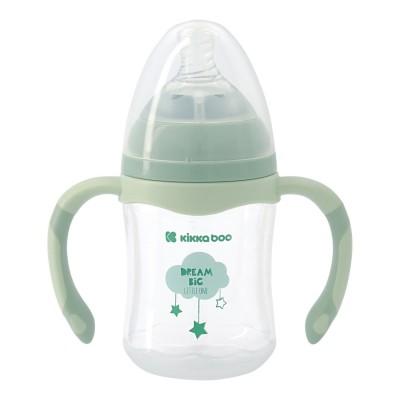 Bottiglia di alimentazione anti-coliche Kikka Boo 180ml Mint Cloud