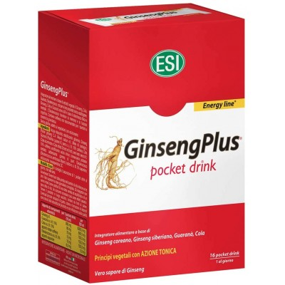 Integratore Alimentare Ginseng Plus 16Pocket Drink