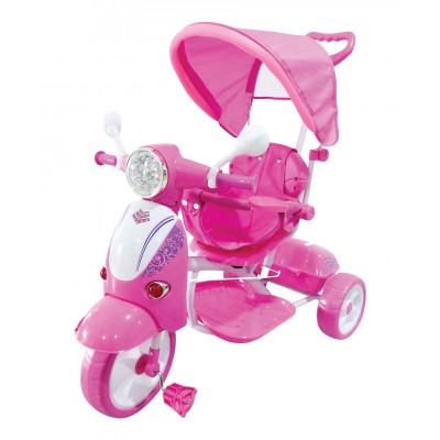 Triciclo Scooter Rosa GVC-5191
