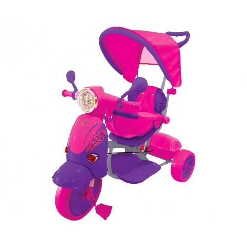 Triciclo Scooter Fuxia/Viola GVC-5194