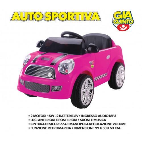 Auto Elettrica Sportiva Rosa GVC-5261