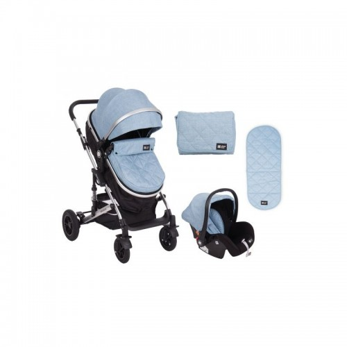 Trio Stroller 3 in 1 Amaia Blue